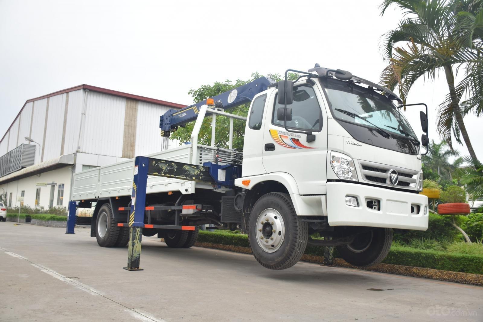 Bán Thaco OLLIN 900B tải cẩu 3 tấn, màu trắng (6)