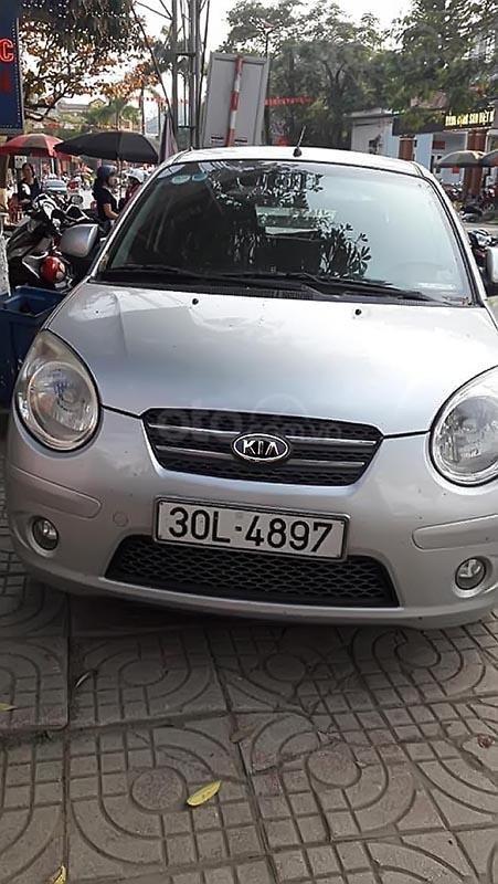Cần bán xe Kia Morning sản xuất 2008, màu bạc, nhập khẩu  -0