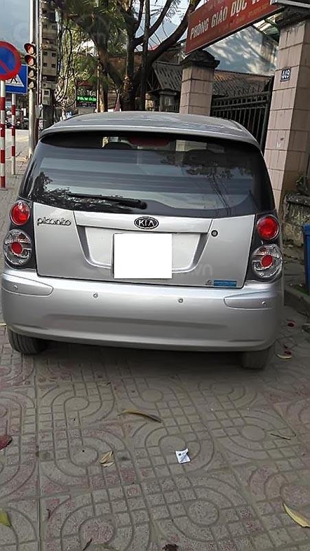Cần bán xe Kia Morning sản xuất 2008, màu bạc, nhập khẩu   (2)