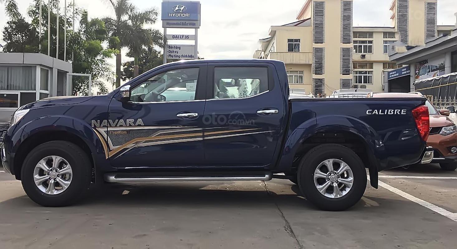 Bán Nissan Navara EL Premium R đời 2019, màu xanh lam, nhập khẩu nguyên chiếc-0