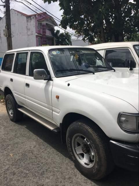 Bán Toyota Land Cruiser sản xuất 1996, màu trắng, nhập khẩu, 7 chỗ (2)