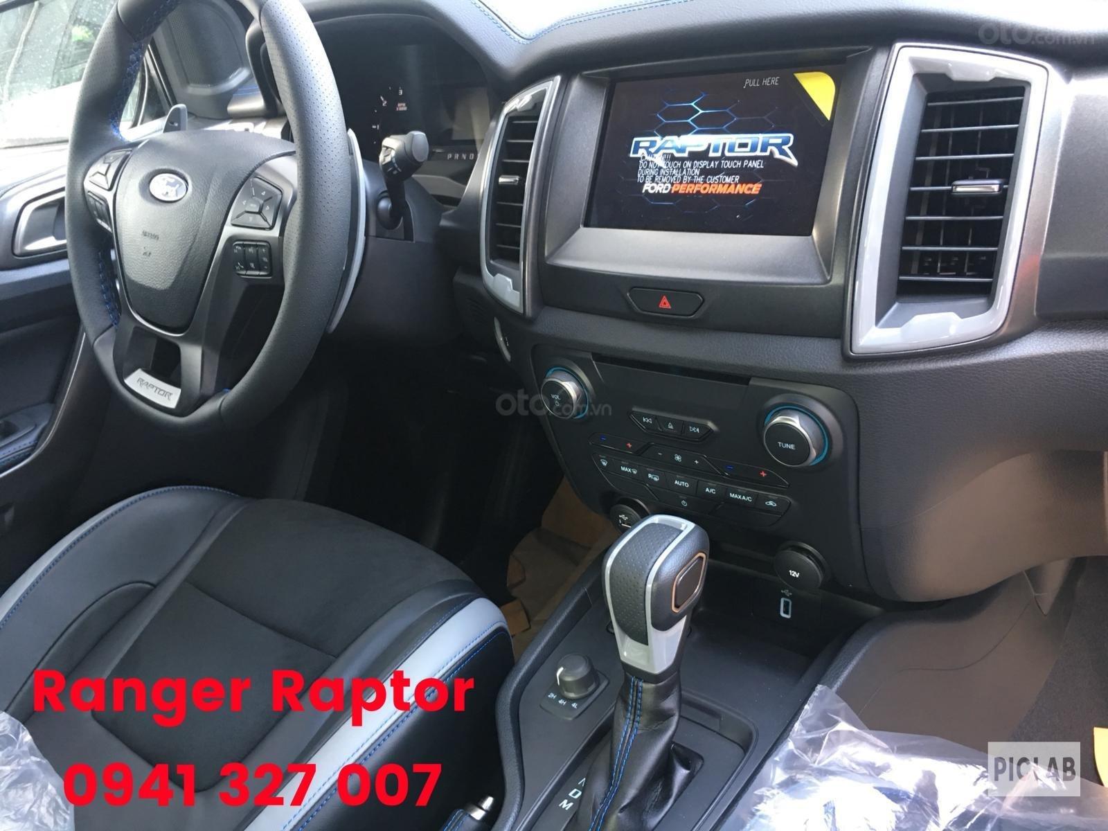 Bán Ford Ranger Raptor nhập khẩu nguyên chiếc Thailand, màu trắng, giao ngay có KM (8)