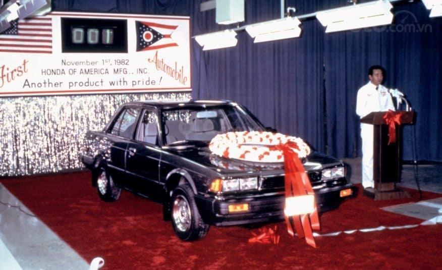 Lịch sử Honda Accord: Thế hệ thứ 2: 1982-1985.