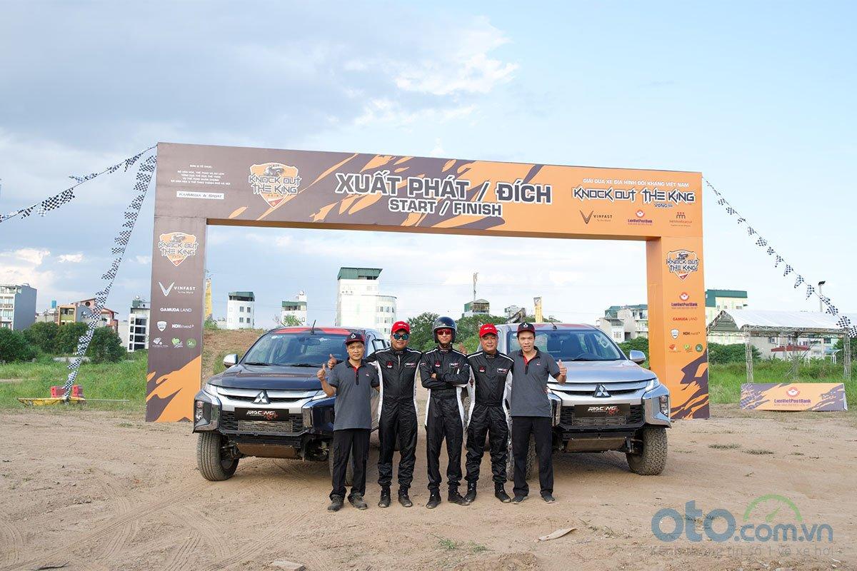 Mitsubishi Trion sẽ là những người bạn đồng hành cùng đội đua Racing AKA.
