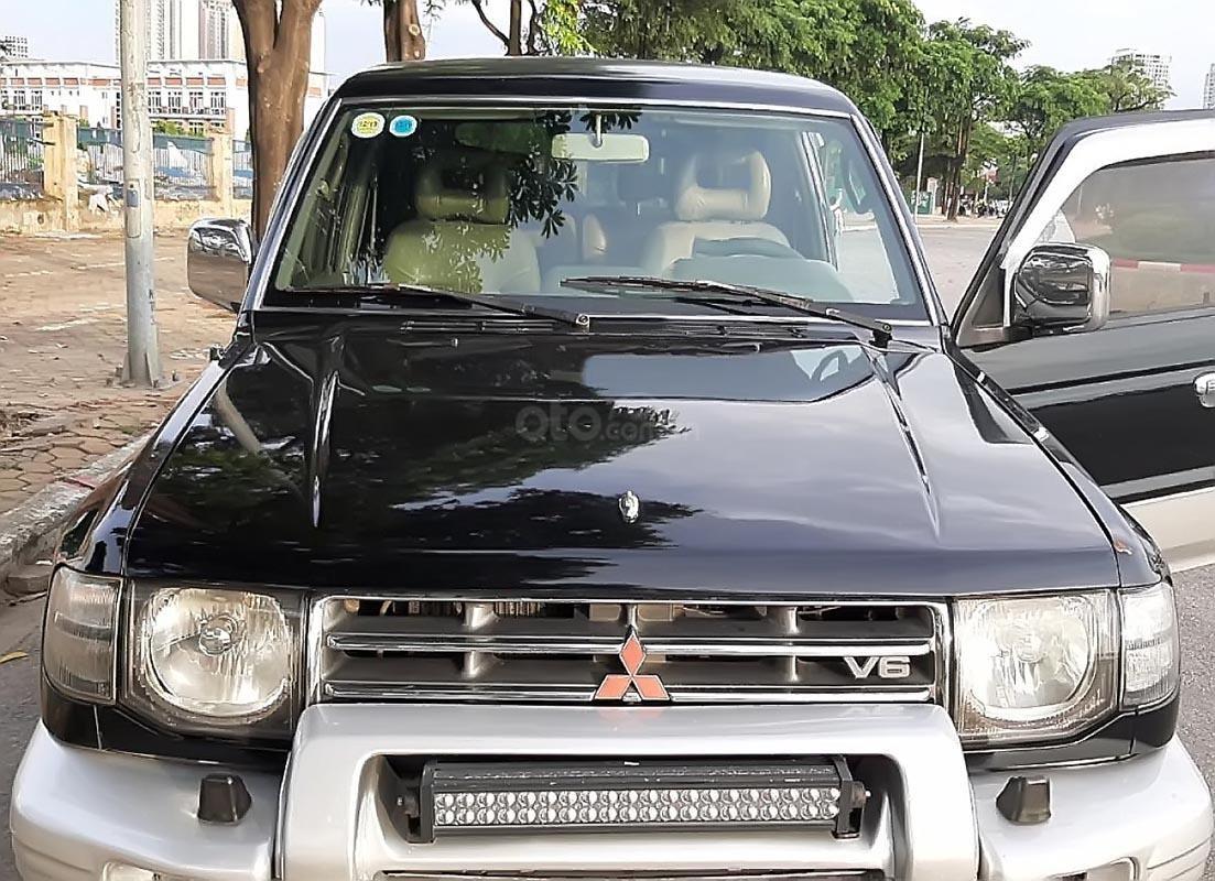 Bán Mitsubishi Pajero 3.5 đời 2003, màu đen-0