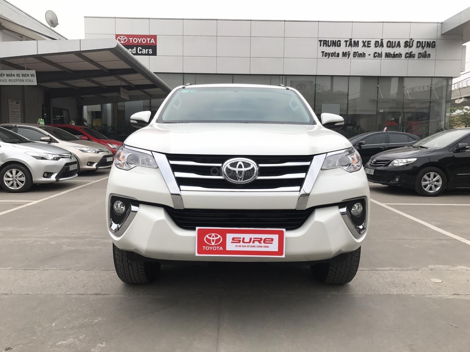 Bán Toyota Fortuner 2.7V (4x2) sản xuất năm 2017, màu trắng, xe nhập-10