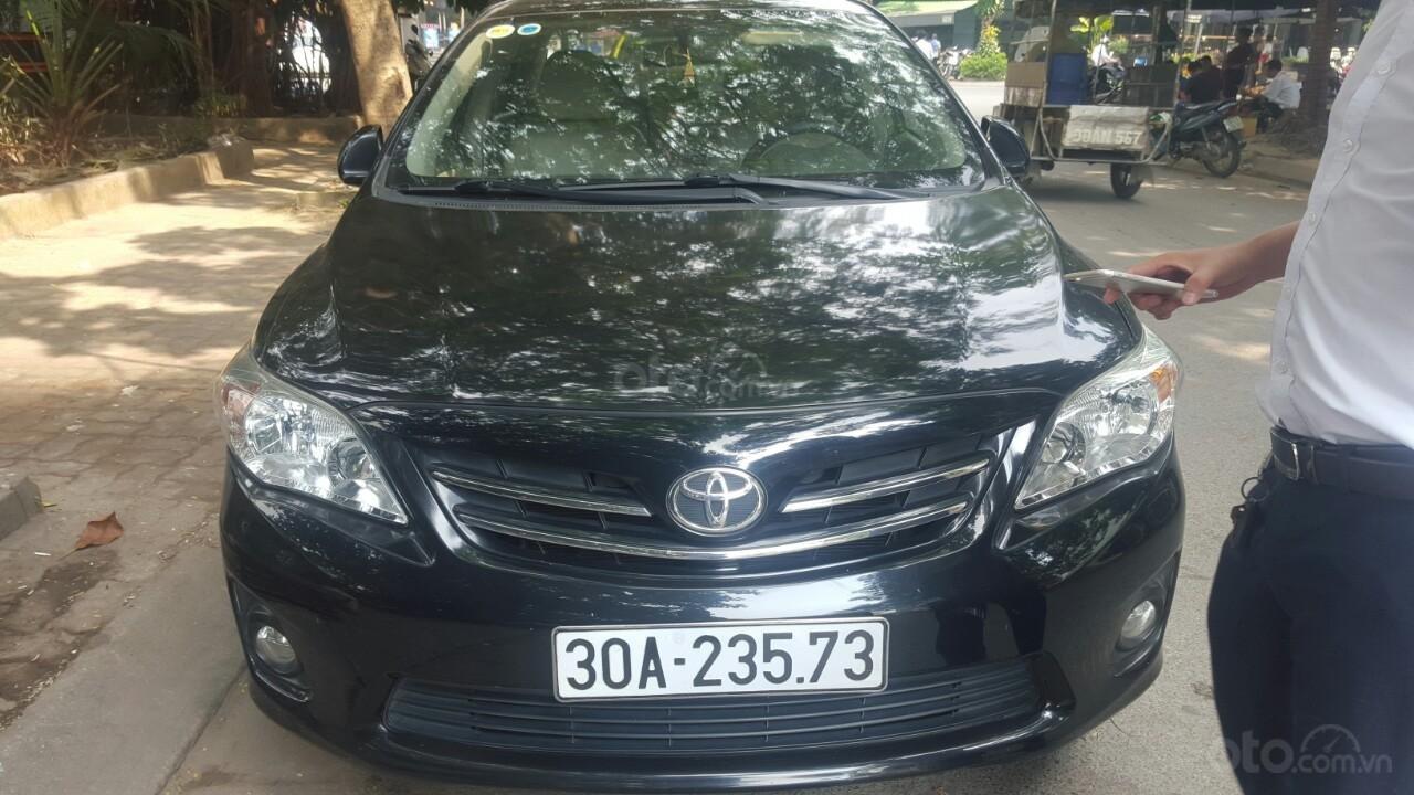 Bán xe Toyota Corolla altis sản xuất 2013, màu đen (3)