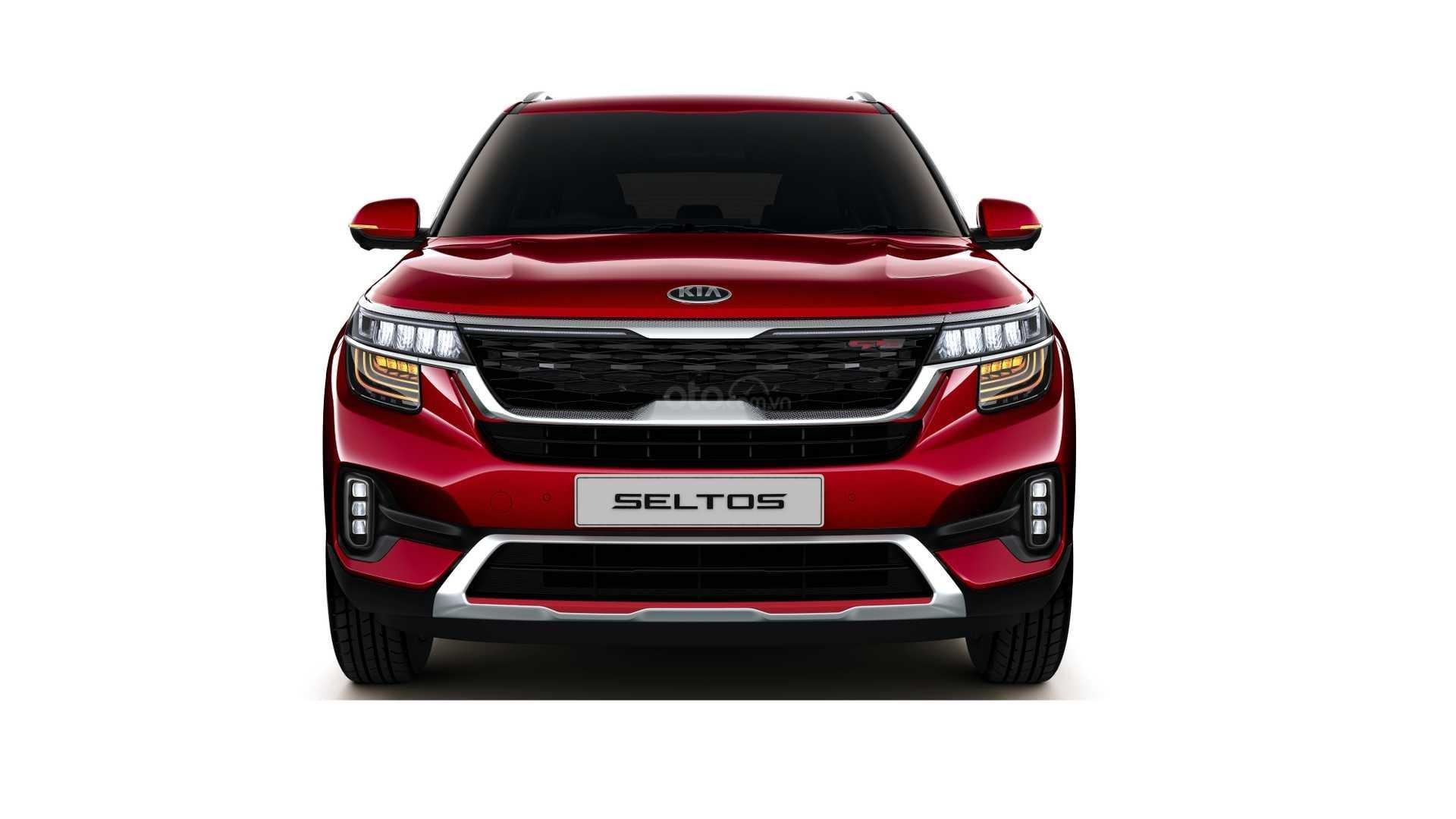 Đầu xe Kia Seltos 2019.