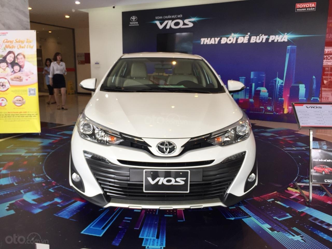 Giá xe Toyota Vios 1.5G 2019, giảm sập sàn, tặng bảo hiểm thân vỏ, hỗ trợ trả góp, chi tiết LH ngay 0978835850 (1)
