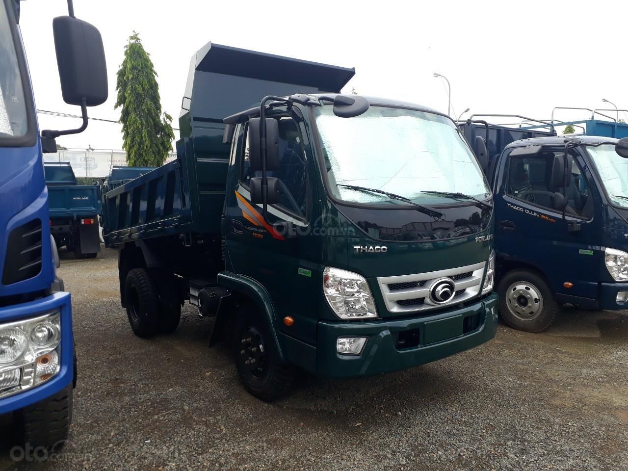 Xe tải ben Thaco FD350. E4 tải trọng 3.49 tấn trường hải ở Hà Nội, LH: 098.253.6148-0