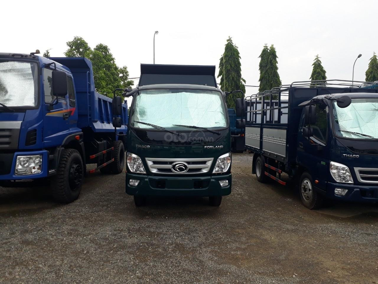 Xe tải ben Thaco FD350. E4 tải trọng 3.49 tấn trường hải ở Hà Nội, LH: 098.253.6148-5