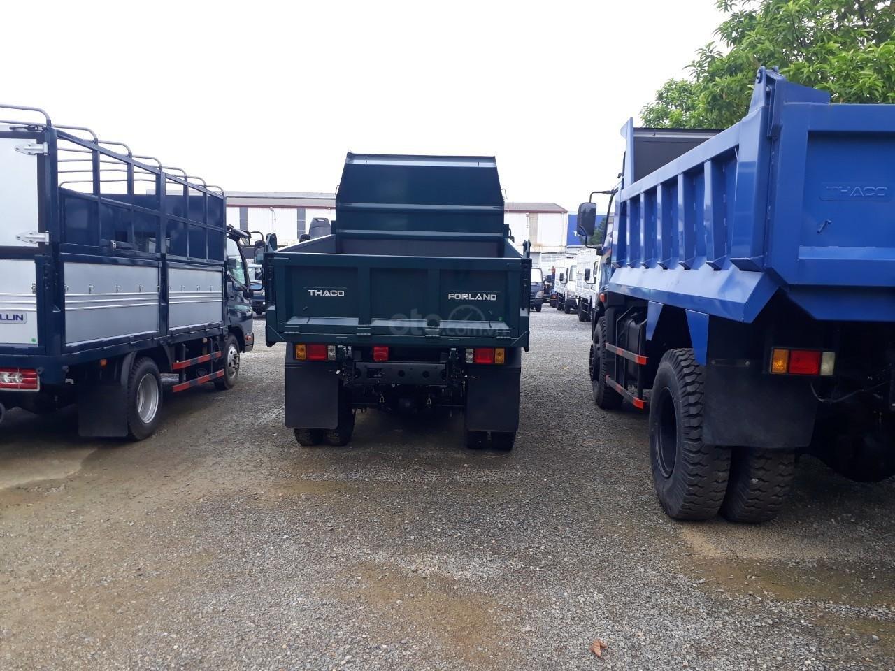 Xe tải ben Thaco FD350. E4 tải trọng 3.49 tấn trường hải ở Hà Nội, LH: 098.253.6148-4