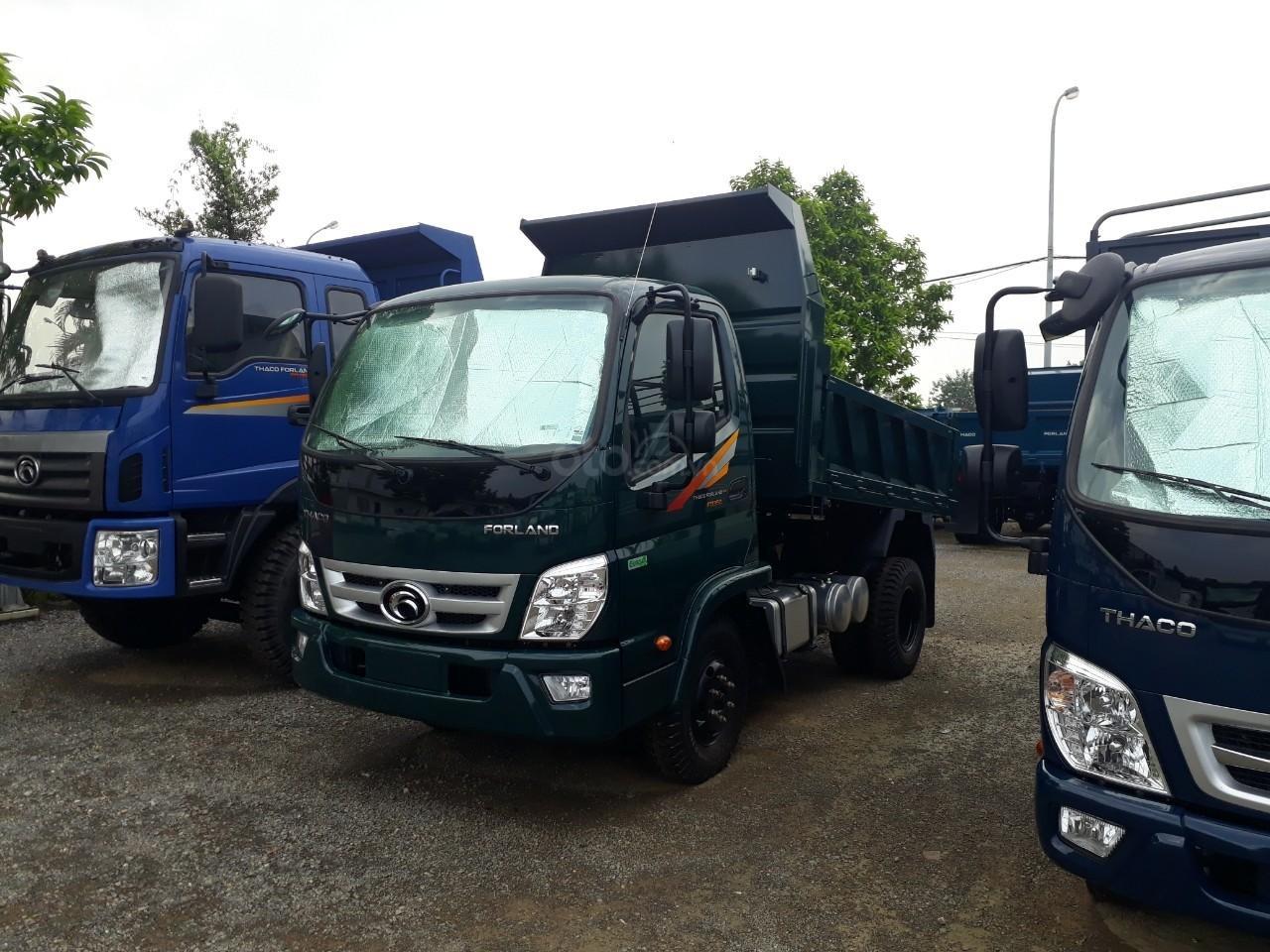 Xe tải ben Thaco FD350. E4 tải trọng 3.49 tấn trường hải ở Hà Nội, LH: 098.253.6148-2