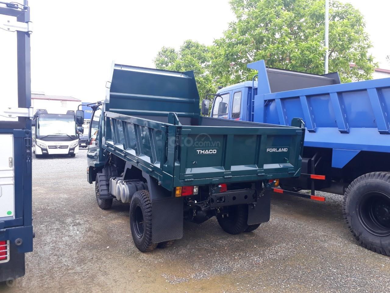 Xe tải ben Thaco FD350. E4 tải trọng 3.49 tấn trường hải ở Hà Nội, LH: 098.253.6148-3