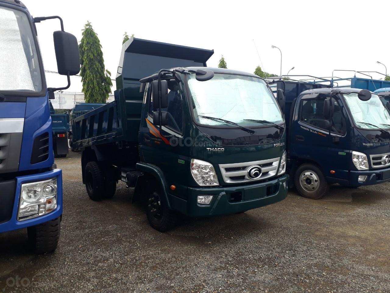 Xe tải ben Thaco FD350. E4 tải trọng 3.49 tấn trường hải ở Hà Nội, LH: 098.253.6148-1