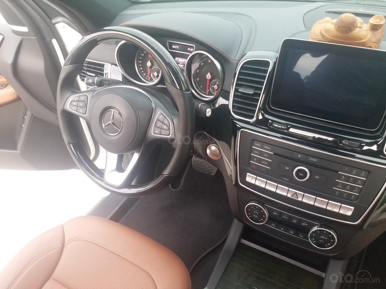 Bán Mercedes GLS400 4 Matic màu trắng sản xuất 12/2017, nhập Mỹ, biển Hà Nội-5