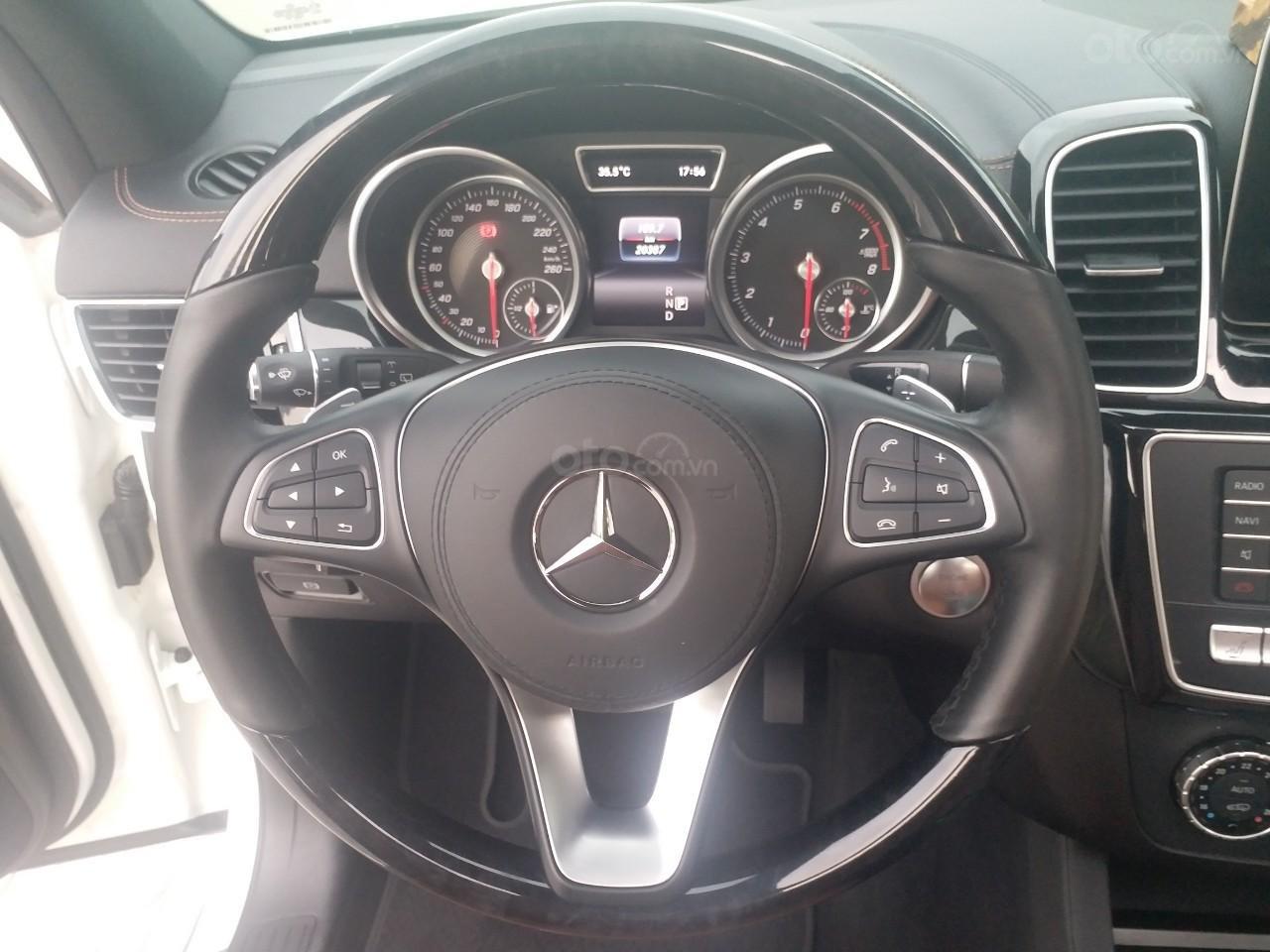 Bán Mercedes GLS400 4 Matic màu trắng sản xuất 12/2017, nhập Mỹ, biển Hà Nội-2