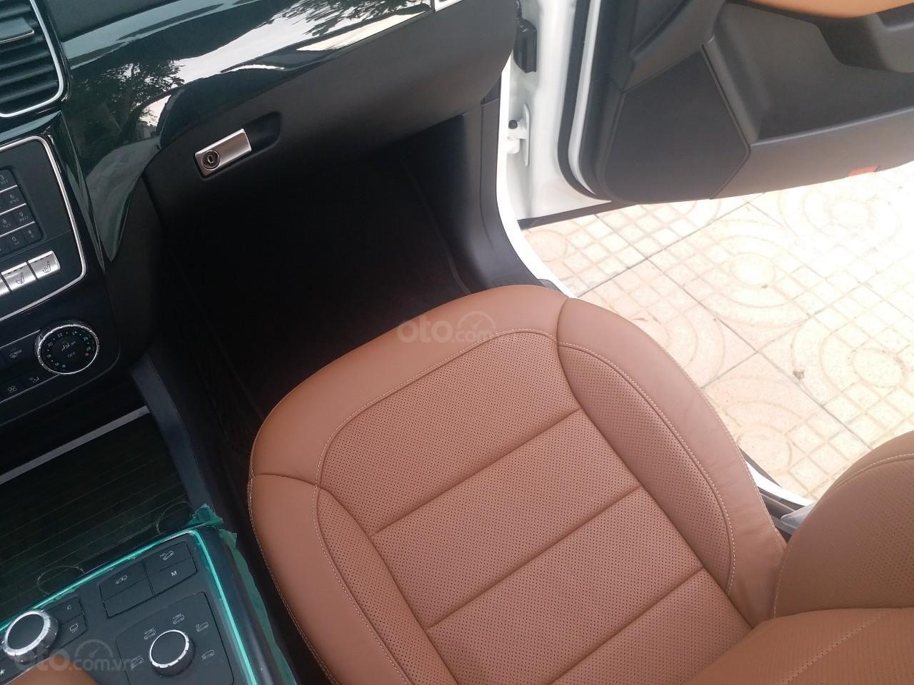 Bán Mercedes GLS400 4 Matic màu trắng sản xuất 12/2017, nhập Mỹ, biển Hà Nội-6