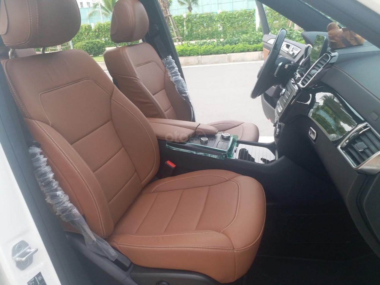 Bán Mercedes GLS400 4 Matic màu trắng sản xuất 12/2017, nhập Mỹ, biển Hà Nội-10