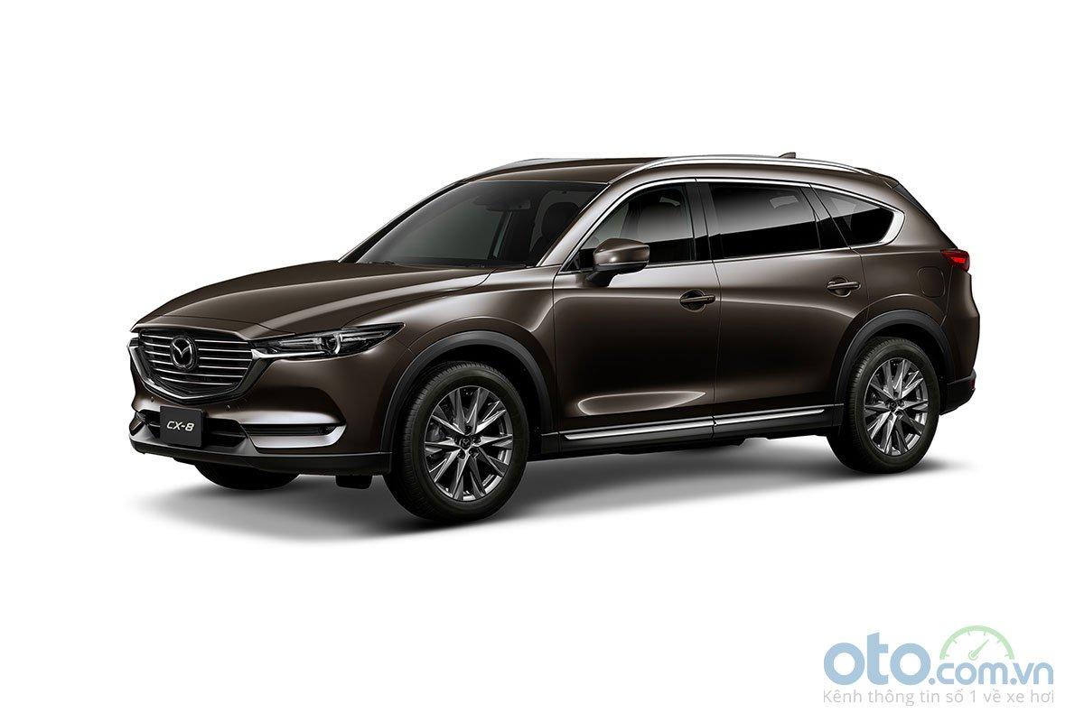 Màu sắc Mazda CX-8 2019 - Nâu.