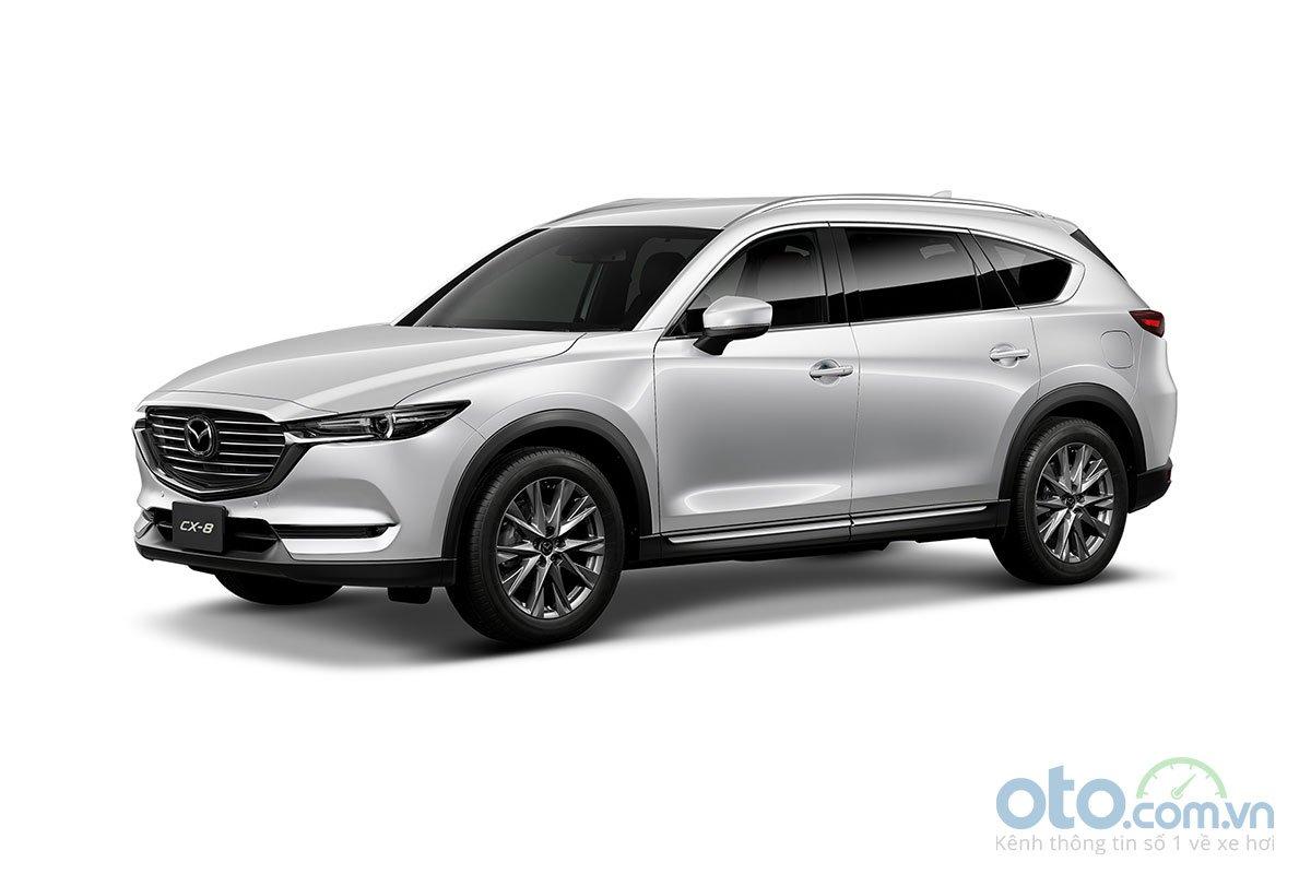 Màu sắc Mazda CX-8 2019 - Trắng.
