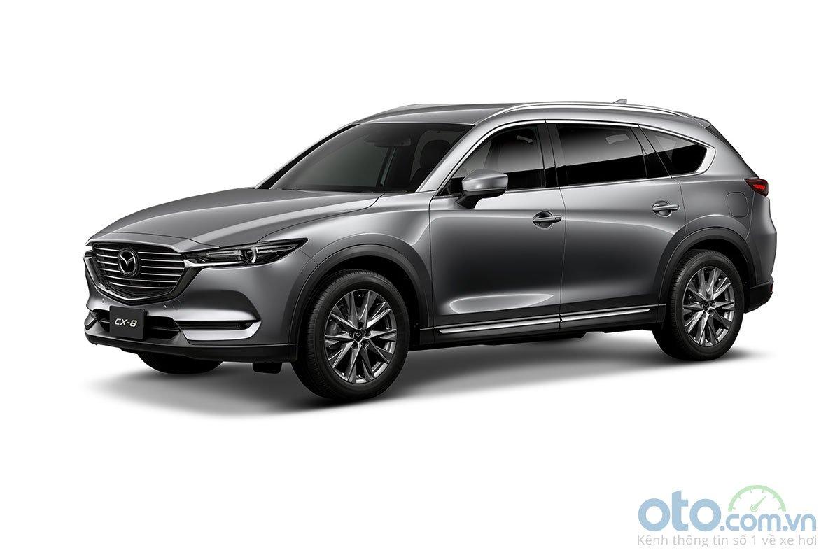 Màu sắc Mazda CX-8 2019 - Bạc.