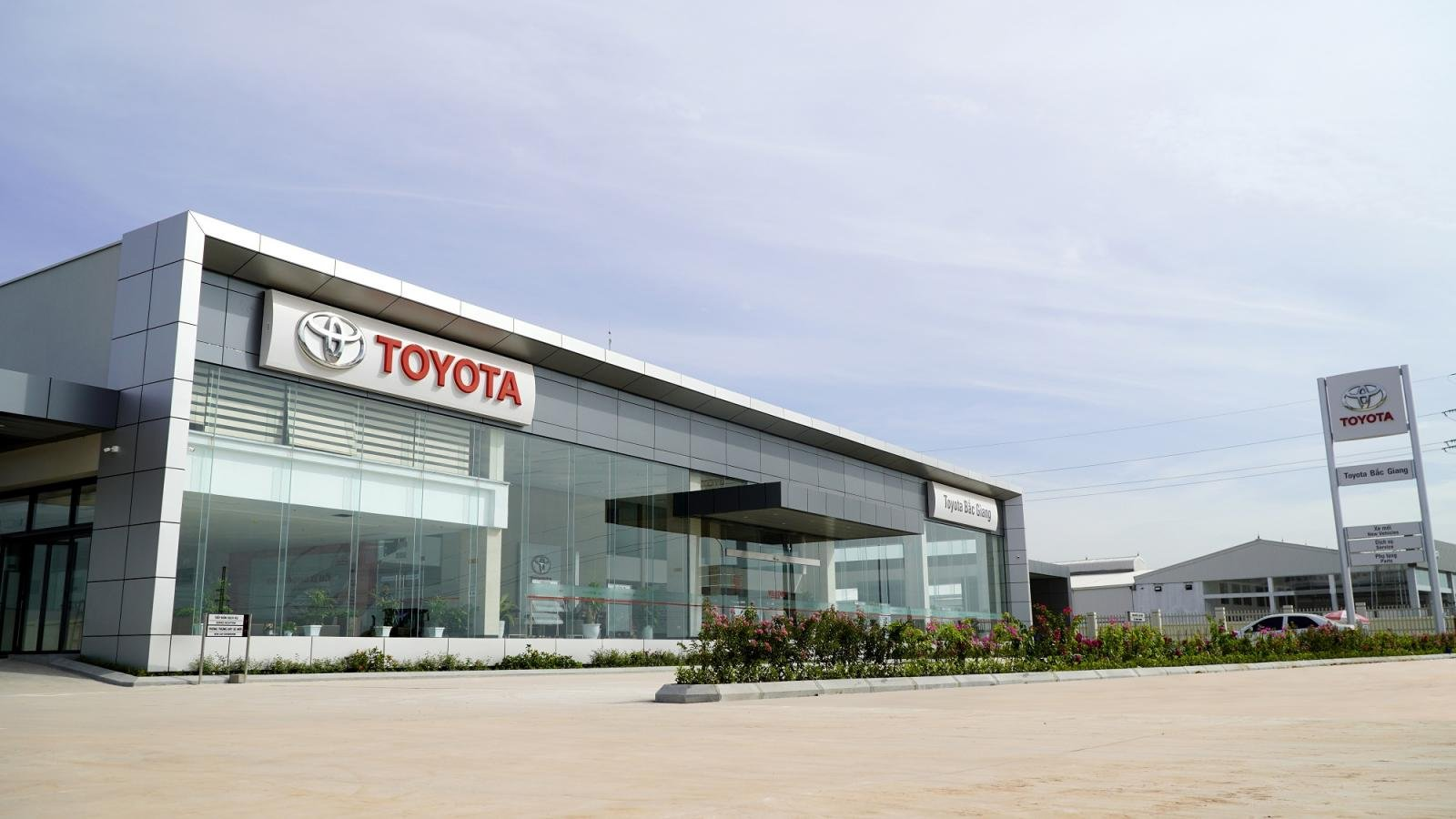 Toyota Bắc Giang chính thức đi vào hoạt động từ ngày 1/7/2019.