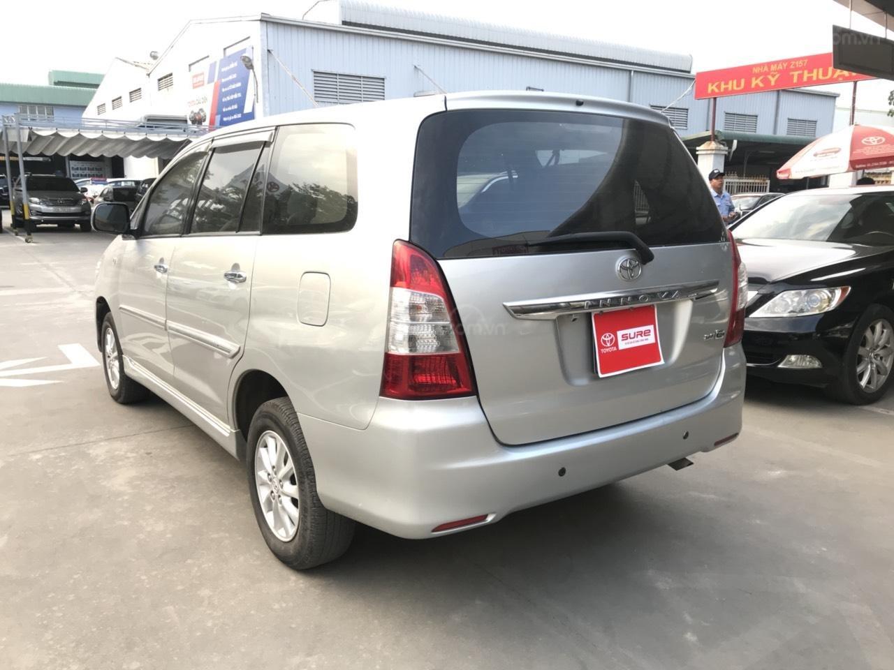 Bán ô tô Toyota Innova sản xuất 2013, màu bạc-2