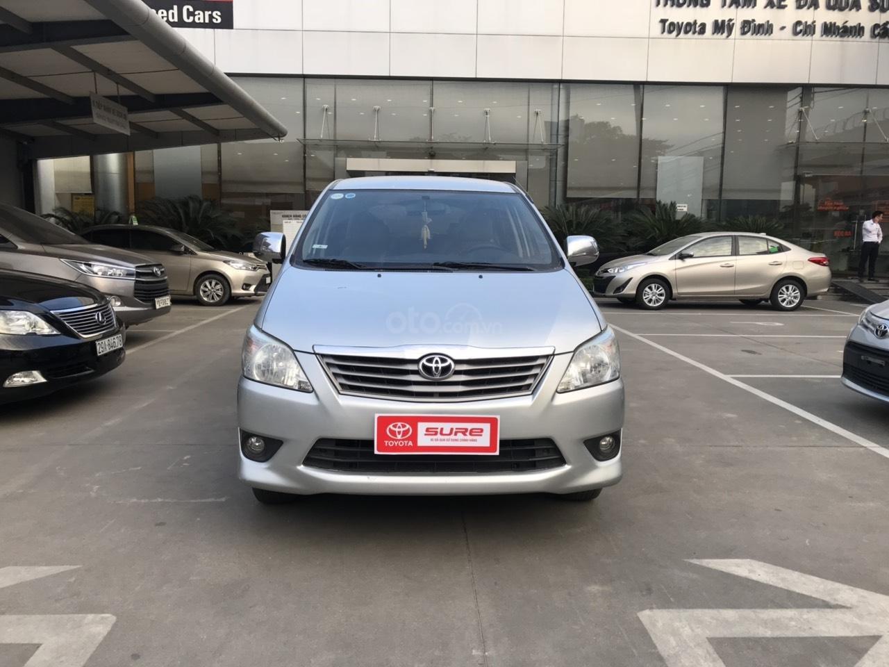 Bán ô tô Toyota Innova sản xuất 2013, màu bạc-1