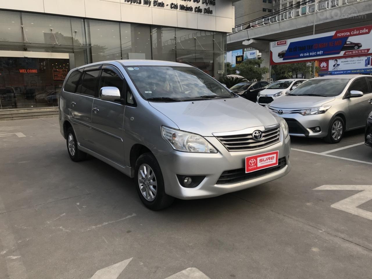 Bán ô tô Toyota Innova sản xuất 2013, màu bạc-9