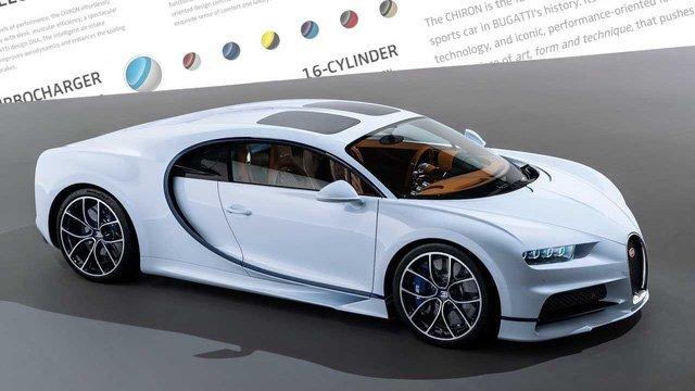 Số tiền mua một chiếc xe Bugatti bằng 150 chiếc hạng phổ thông cộng lại 1a