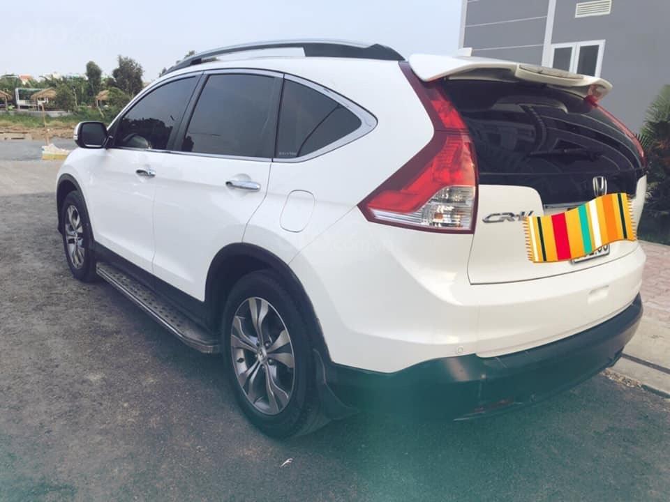 Hà Nội bán Honda CRV 2.0 AT đời 2014 màu trắng-0