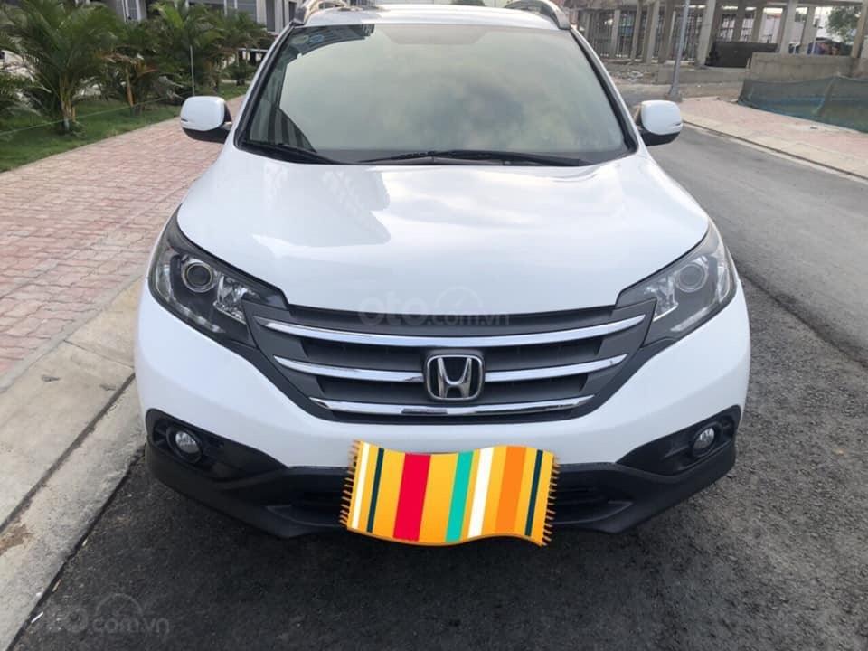 Hà Nội bán Honda CRV 2.0 AT đời 2014 màu trắng-1