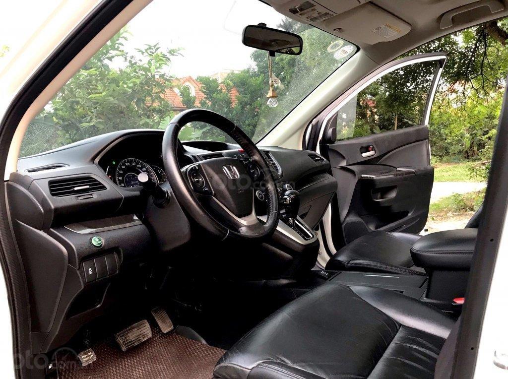 Hà Nội bán Honda CRV 2.0 AT đời 2014 màu trắng-2