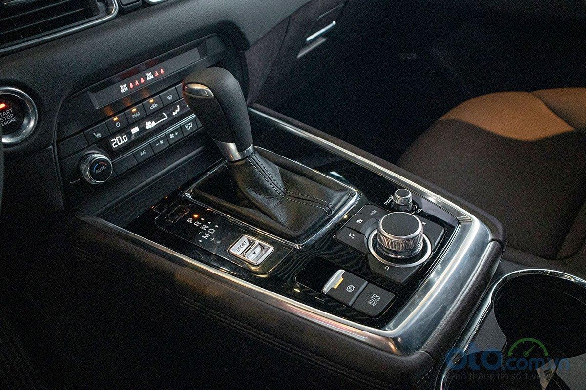 Đánh giá xe Mazda CX-8 2019: Hộp số tự động 6 cấp tiêu chuẩn tích hợp chế độ thể thao