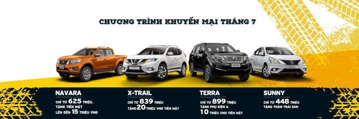 Nissan Việt Nam khuyến mại tháng 7/2019: Nissan X-Trail giảm 20 triệu đồng a1