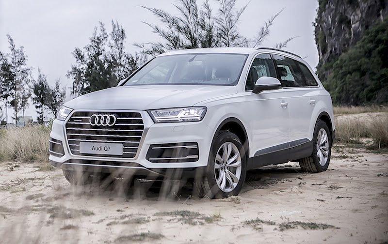 Thông số kỹ thuật xe Audi Q7 2019