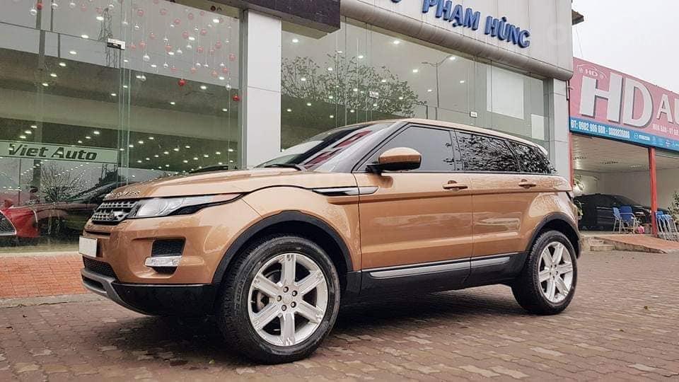 Bán Range Rover Evoque màu vàng, nội thất kem bản full option, xe sản xuất 2014 (2)