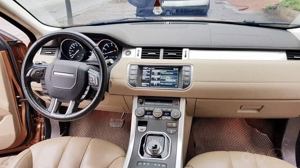Bán Range Rover Evoque màu vàng, nội thất kem bản full option, xe sản xuất 2014 (7)