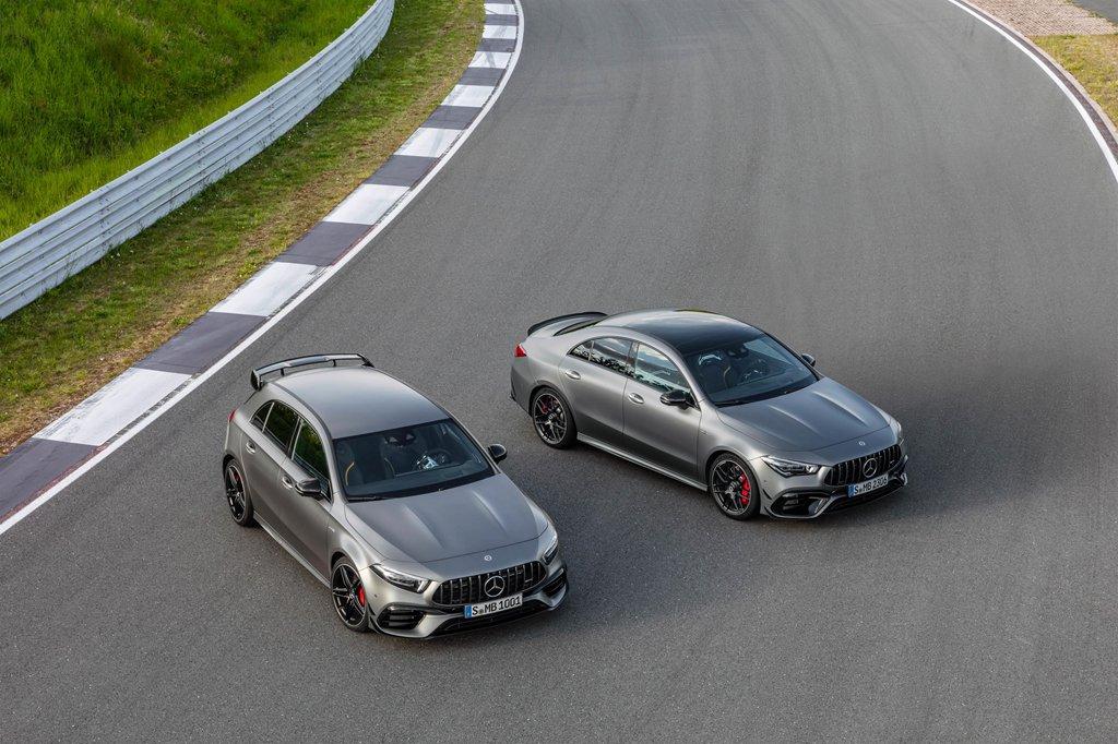 Bộ đôi Mercedes-AMG CLA 45 và A 45 2020 ra mắt tại Goodwood Festival of Speed a2