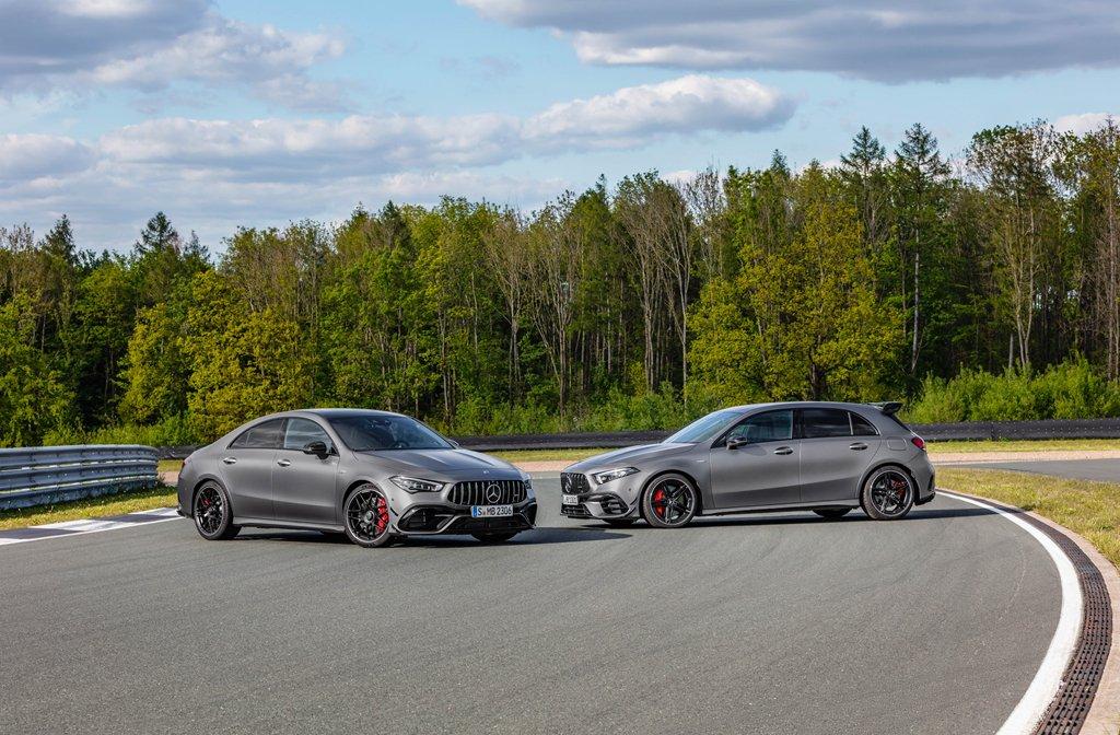 Bộ đôi Mercedes-AMG CLA 45 và A 45 2020 ra mắt tại Goodwood Festival of Speed a1
