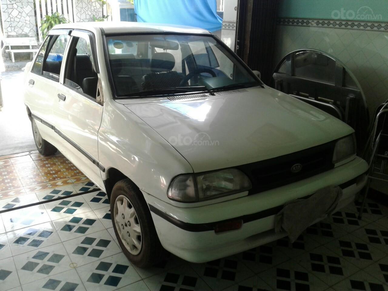 Bán xe Kia Pride B đời 2001, màu trắng, nhập khẩu nguyên chiếc giá cạnh tranh (4)