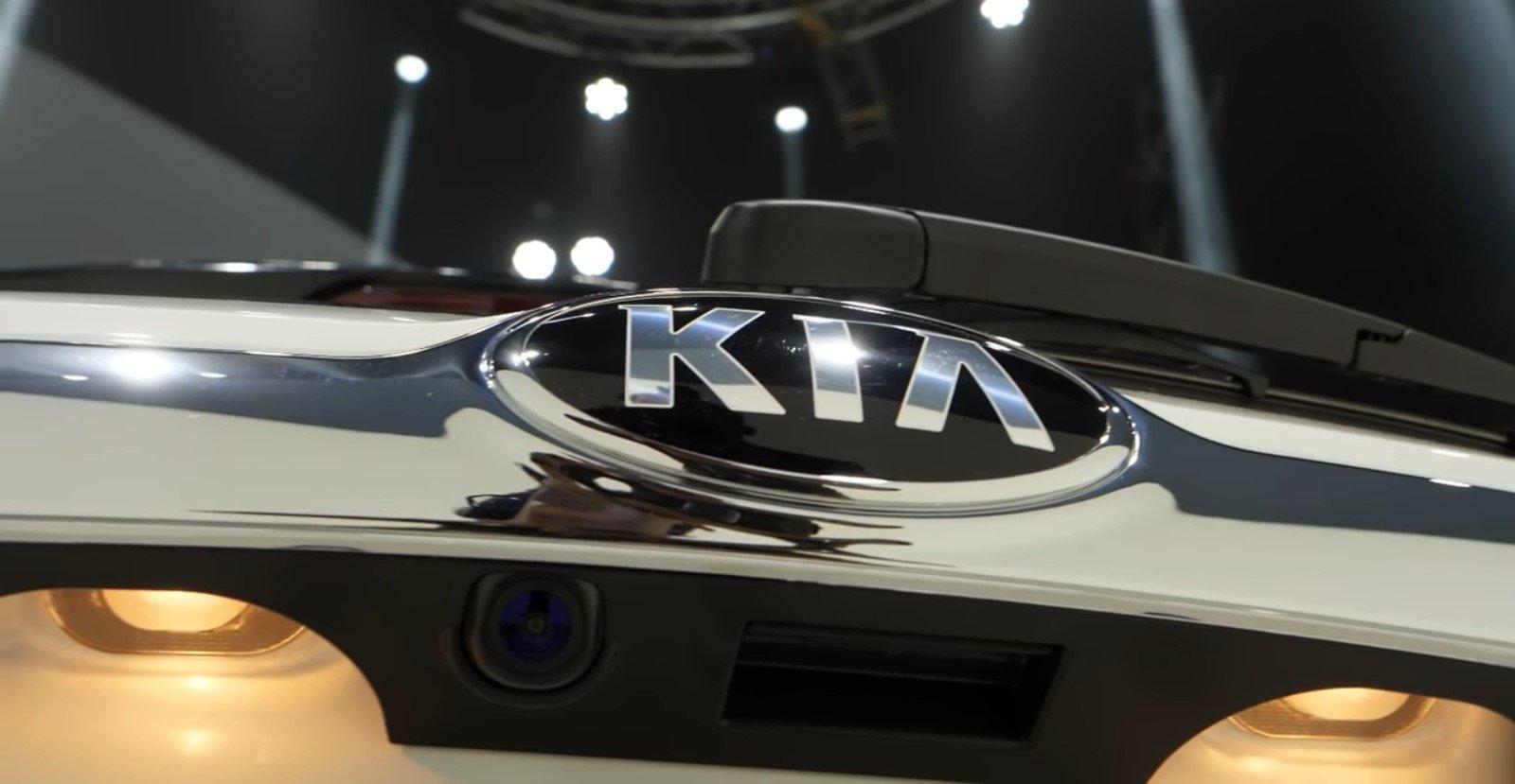 Hình ảnh camera lùi xe Kia Seltos 2020