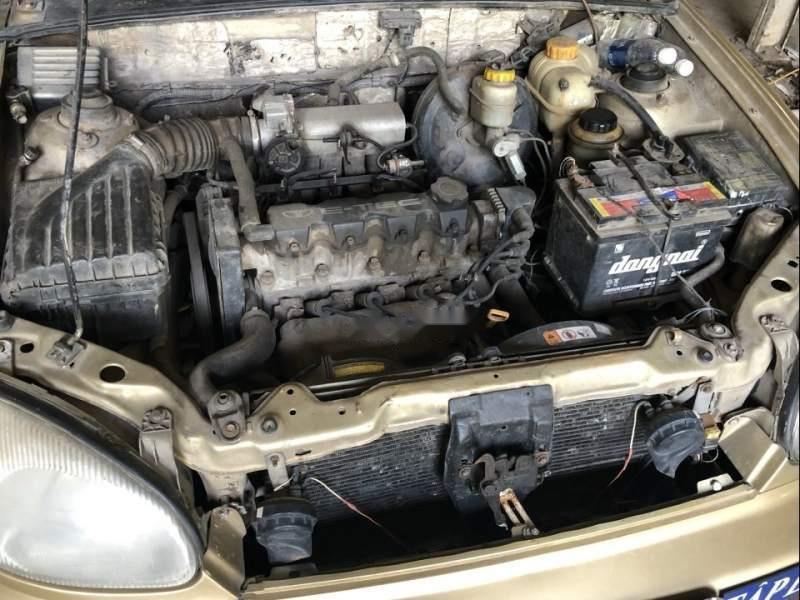 Bán Daewoo Lanos sản xuất năm 2002, màu vàng, nhập khẩu  (5)