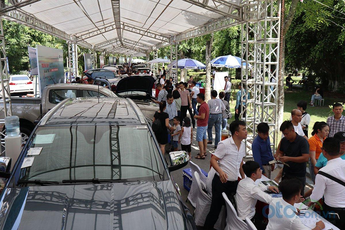 Sáng nay (6/7), Hội chợ Oto.com.vn lớn nhất miền Bắc chính thức khai mạc - Ảnh 10.