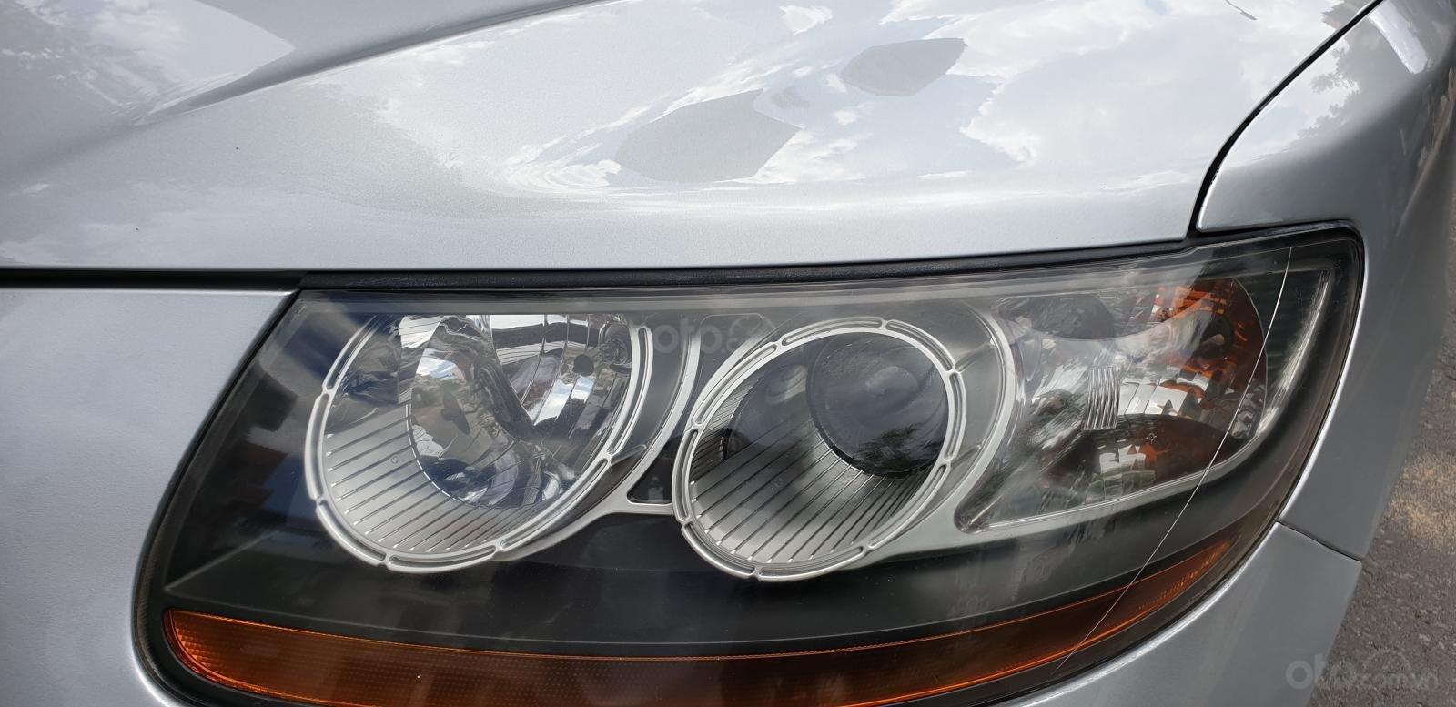 Bán Hyundai Santa Fe SLX 2.0 AT 4×2 2009, máy dầu, số tự động, màu bạc, nhập khẩu, mới 80%-9