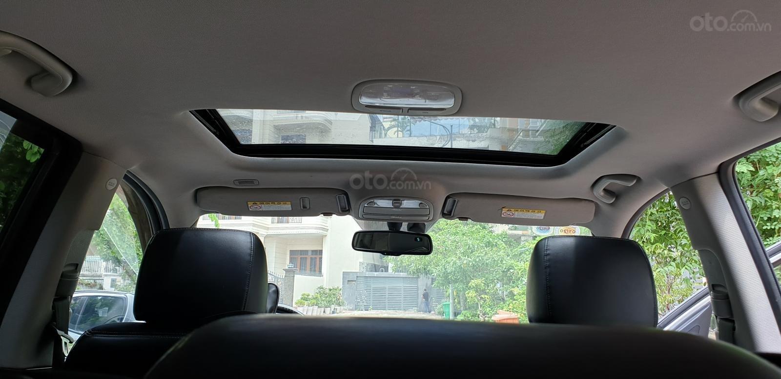 Bán Hyundai Santa Fe SLX 2.0 AT 4×2 2009, máy dầu, số tự động, màu bạc, nhập khẩu, mới 80%-10