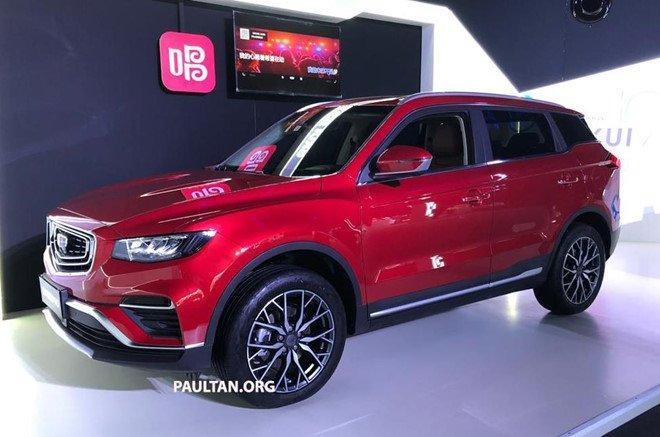 "Geely Boyue Pro - SUV Trung Quốc ""nhái"" nội thất Porsche 1"