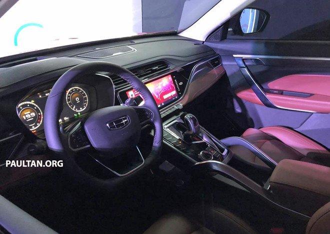 "Geely Boyue Pro - SUV Trung Quốc ""nhái"" nội thất Porsche a4"