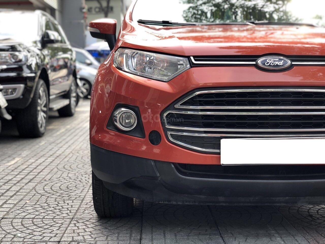 Bán Ford EcoSport Titanium sản xuất 2016, màu cam, xe chính hãng-4